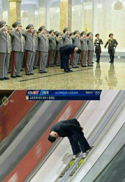 Record mundial, solo se conoce en corea del norte - meme
