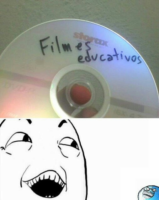 ( ͡° ͜ʖ ͡°)  bem educativos... - meme