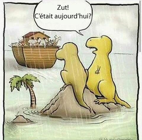Comment les dinosaures ont disparus - meme