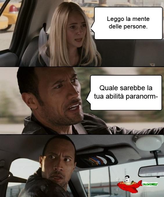 Abilitá paranormali O_O - meme