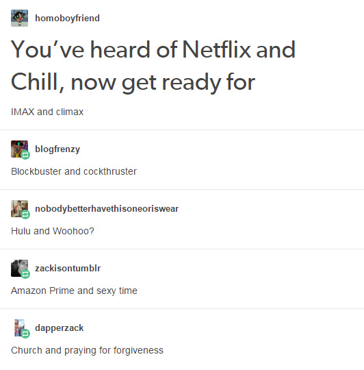 "Netflix has some ""stiff"" competition - meme"