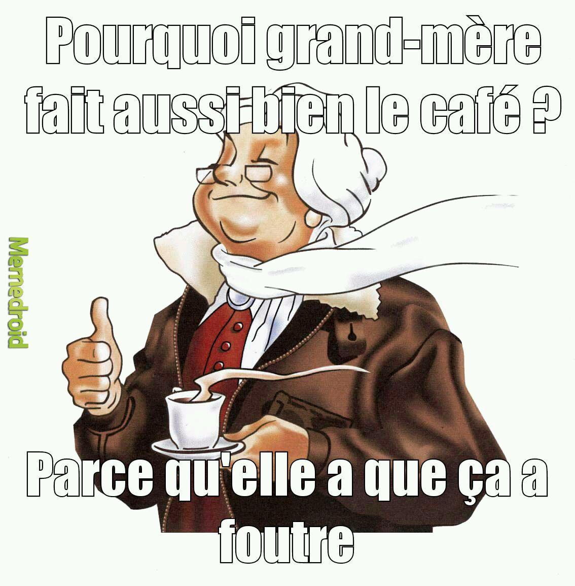 Grand mère - meme