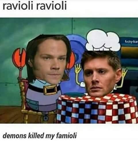 Supernatural memes?