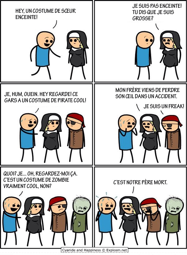 Bande de fifou xD Cyanide and happiness #16 - meme