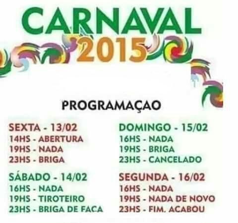 Carnaval - meme