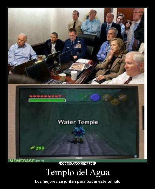 Templo del Agua - meme