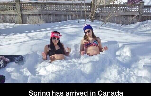 Ahh Canada - meme