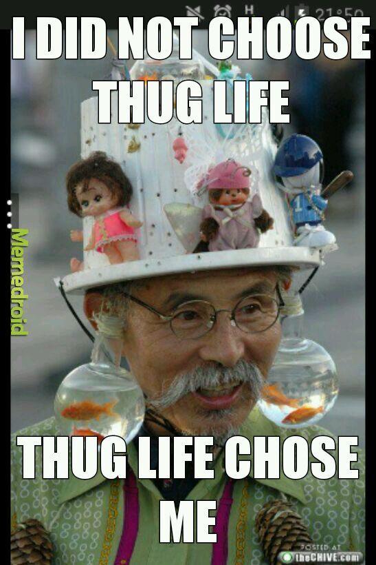 Thug life - meme