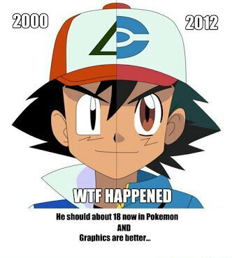 What happened to Pokemon - meme