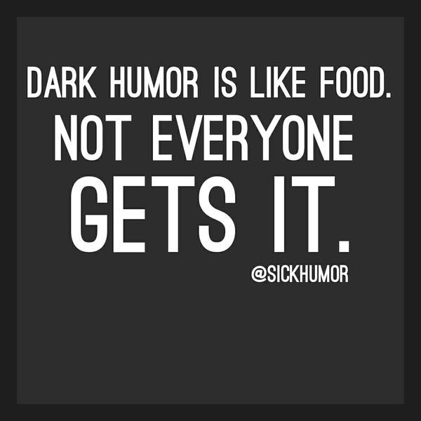 Dark humor. - meme
