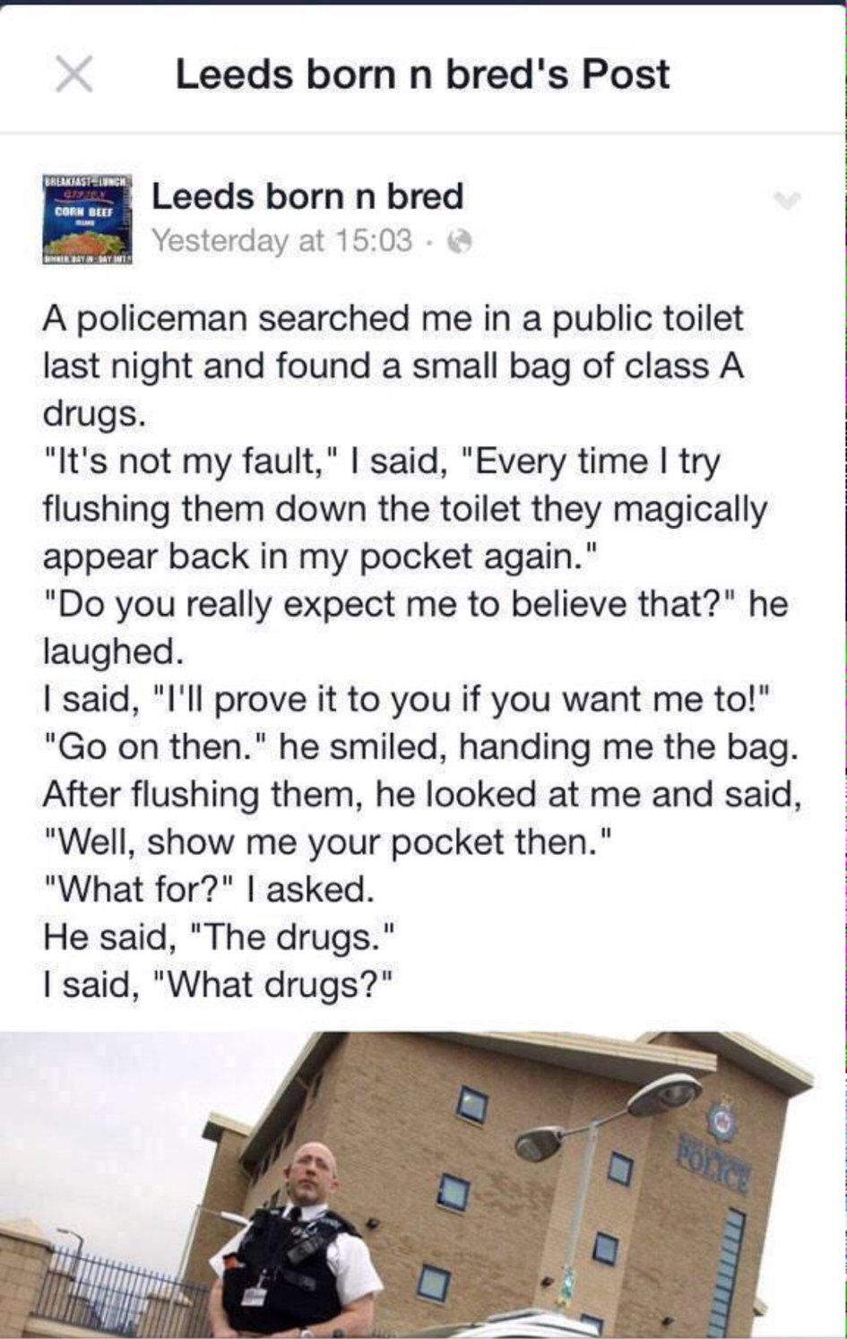 what Drugs? - meme