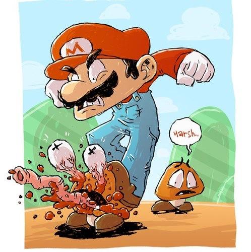 Por eso el Mario no tiene mejores gráficos... - meme