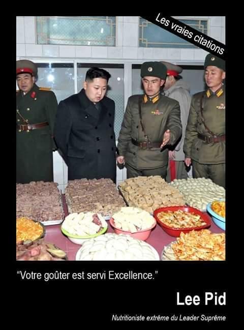 Voilà un goûter Kim plaît ! - meme