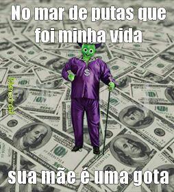 Dollynho Cafetão 1 - meme