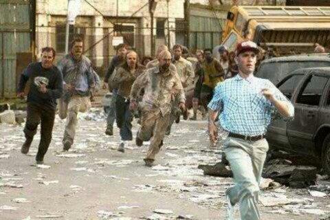 Run Forest! - meme