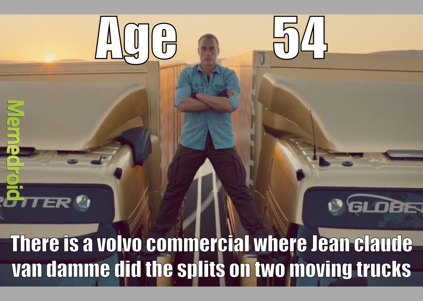 he's 60 and he's still one of the most flexible people alive - meme