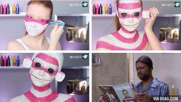 Perfection level maquillage - meme