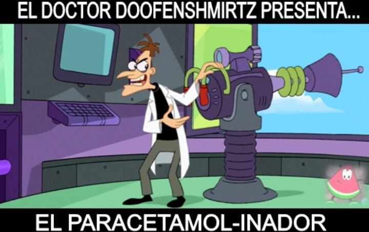 Paracetamol-Inador - meme