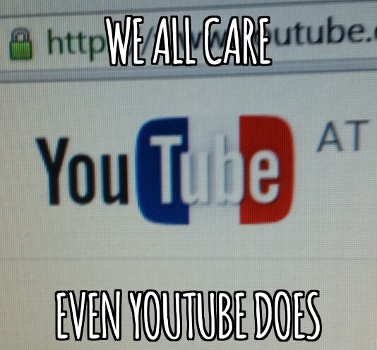 We care - meme