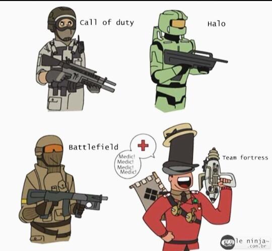 Team Fortress 2 não morreu :D - meme