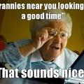 My grandma everyone
