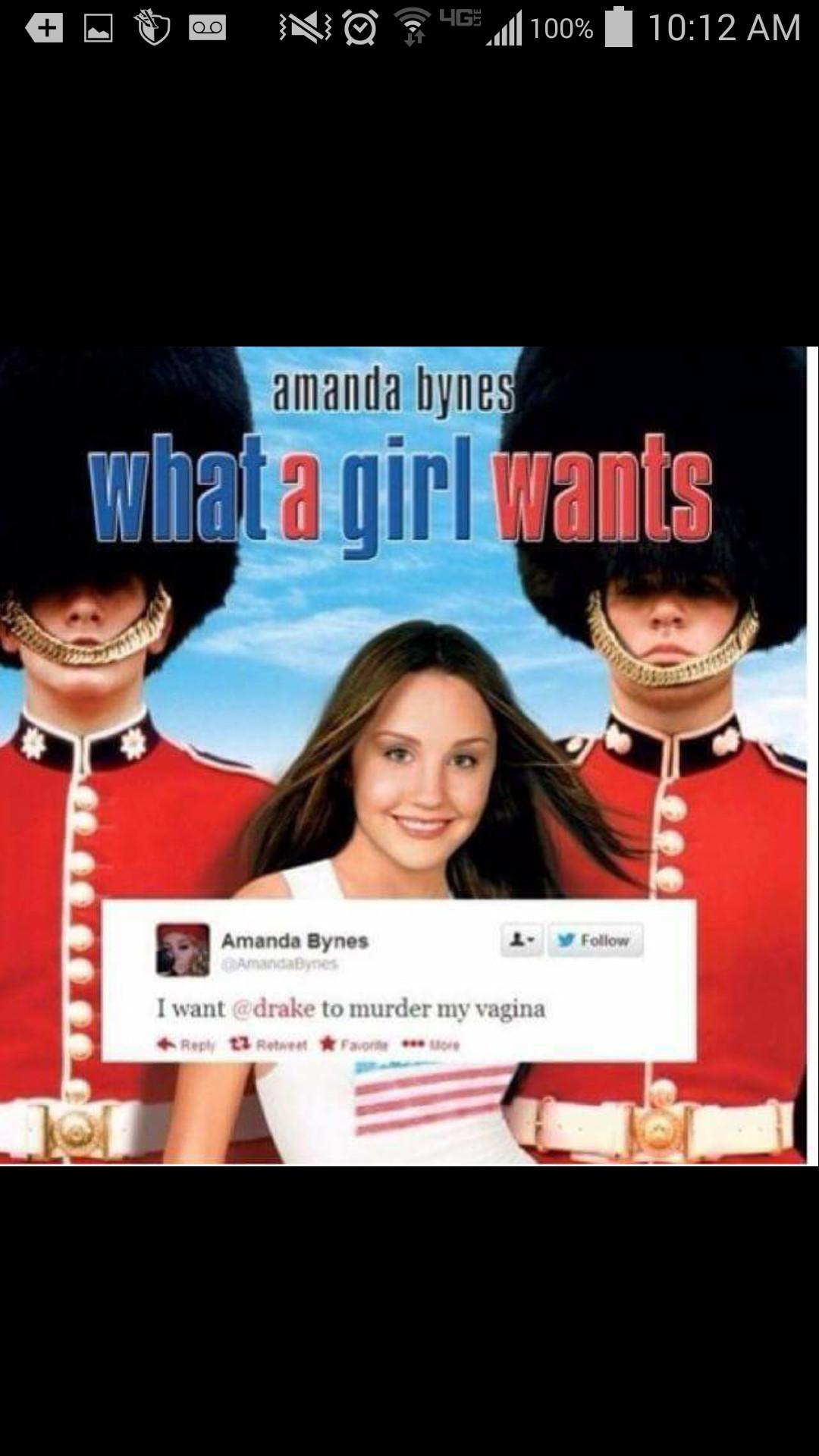 Oh Amanda - meme
