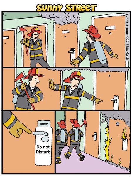 The roof, the roof, the roof is on fire!!!! - meme