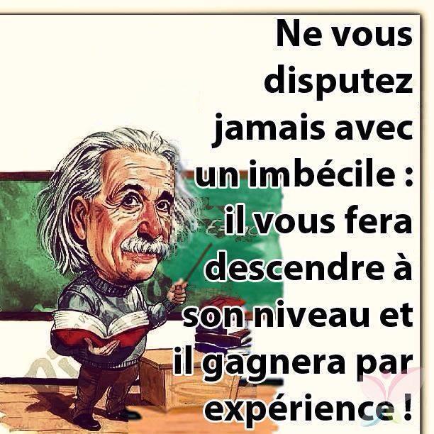 La philo d'Einstein - meme