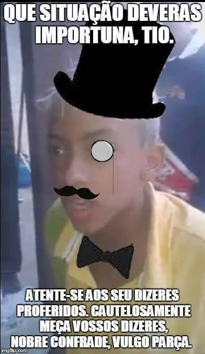 Like a gentleman...se for repetido, nao sabia - meme