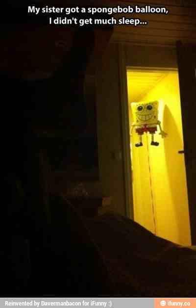 He sees you when you're sleeping - meme
