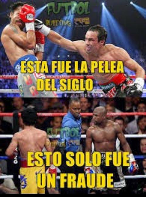 Marquez vs pacquiau 3 si fue la mejor - meme
