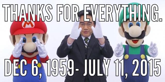 Rip iwata-sensi - meme