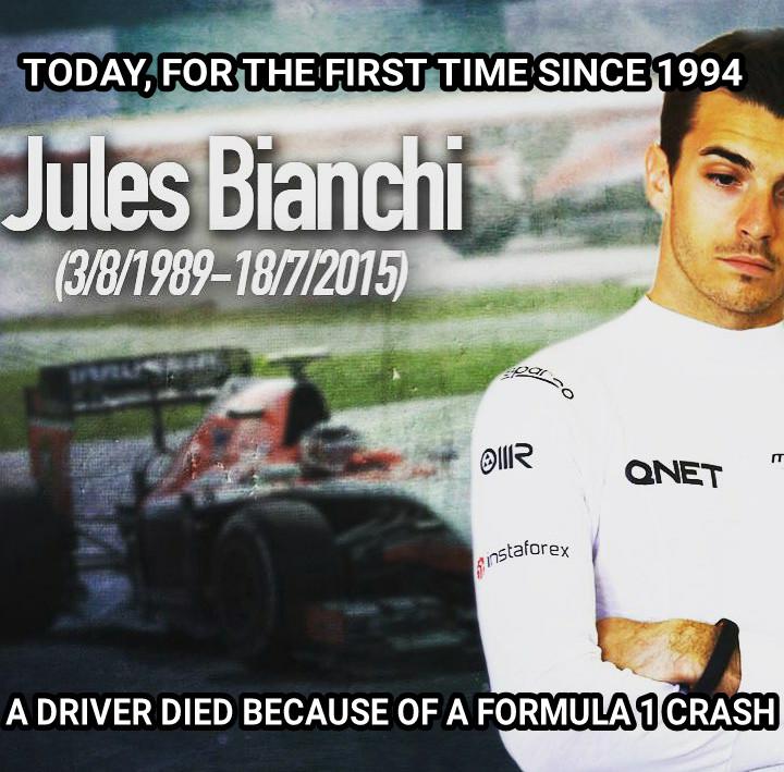 Rest In Peace Jules Bianchi - meme