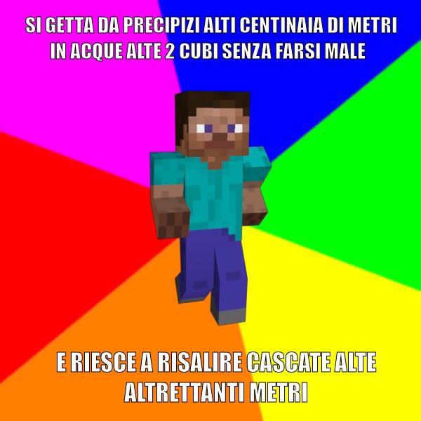 Minecraft's logic - meme