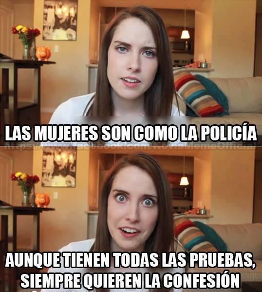 La policía femenina - meme