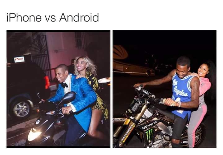 Hay dos tipos de persona PD:(prefiero el android(͡° ͜ʖ ͡°)) - meme
