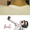 los selfies de hoy en dia