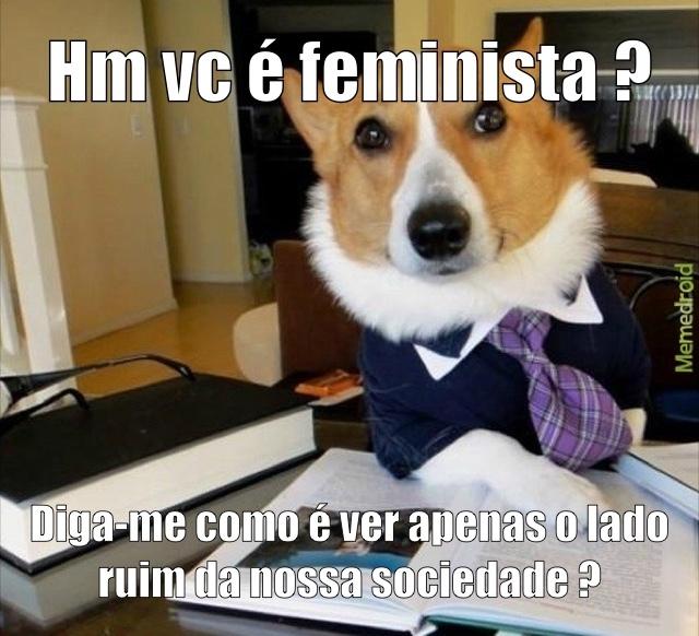 diz q e feminista e dps quer entrar no carro primeiro - meme