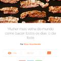 Bacon é vida