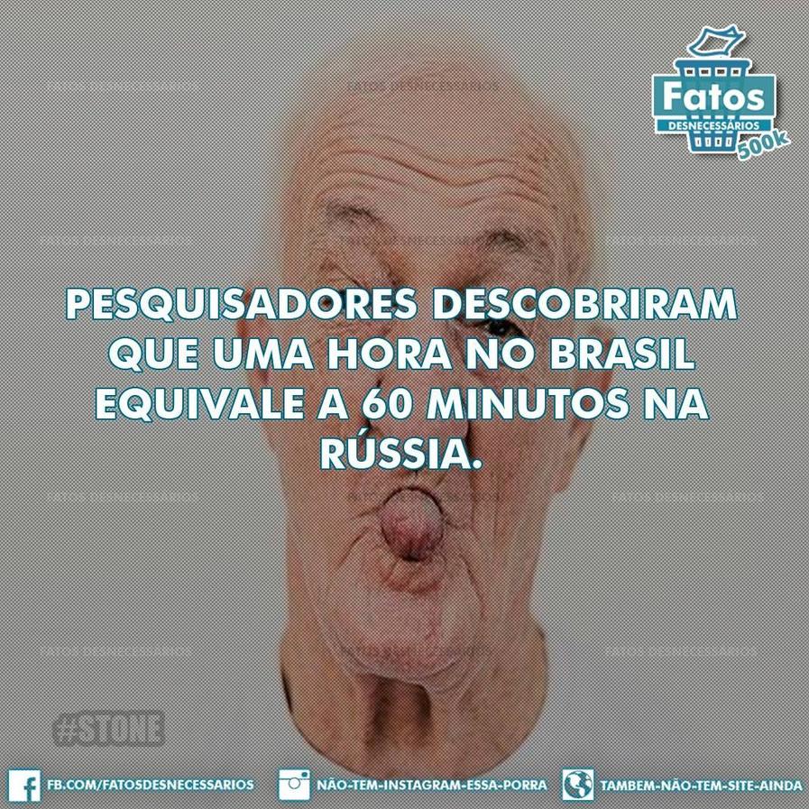 E 30 minutos no brasil equivale a meia hora na australia - meme
