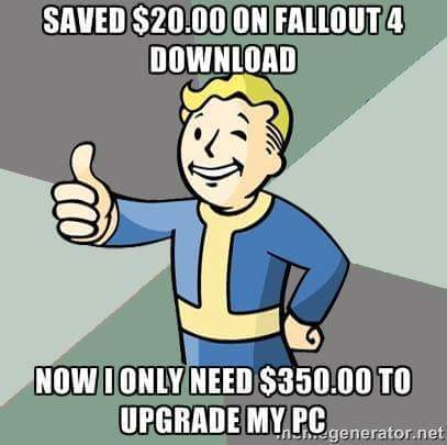 Cons of Glorious PC Gaming Master Race... - meme