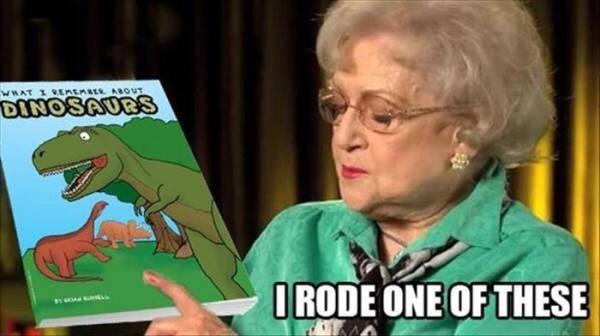 Betty White - meme