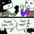 Batman wins XD