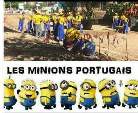 C'est tellement mignions les portugais - meme