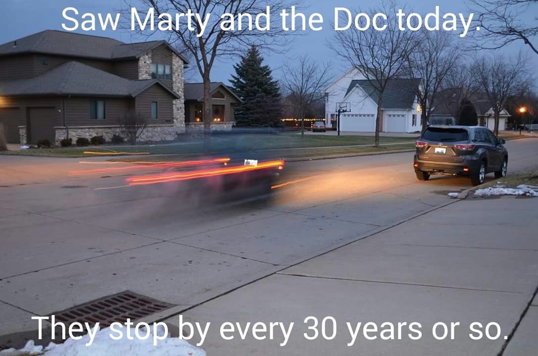 Back to the Future becomes real in 2015 - meme