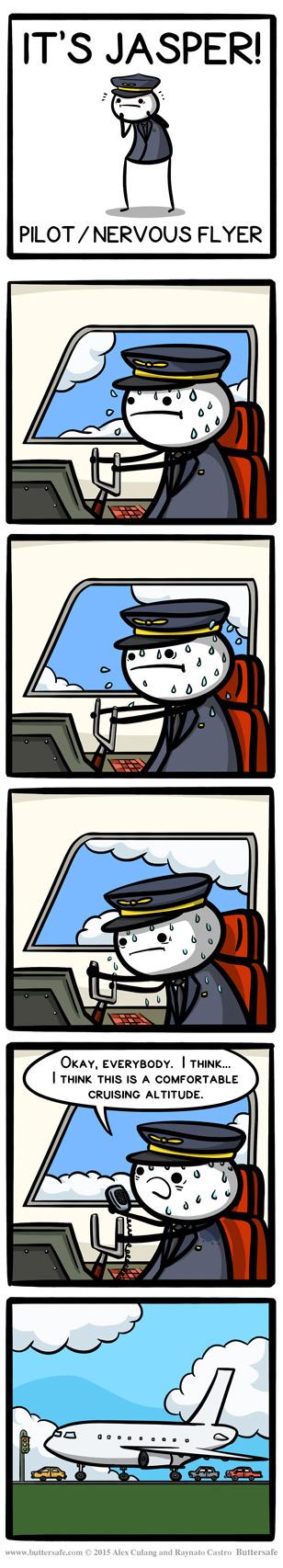 the shy pilot - meme