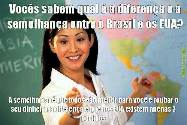Odeio PT/PSDB/DEMOCRATAS/REPUBLICANOS - meme