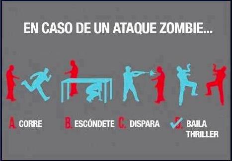 Zombies la triste realidad - meme