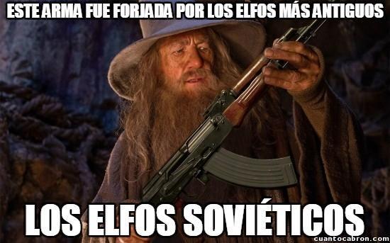 Elfos sovieticos - meme