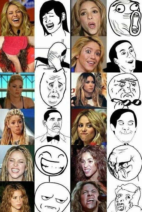 Shakira - meme